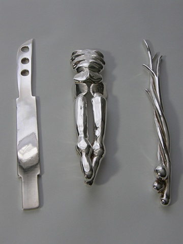 """Disordered"" [flatware set]"
