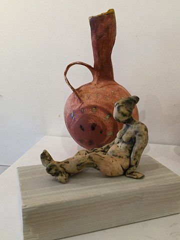 @ Skylark 2 Gallery :The Lady and The Gourd (sold separately)