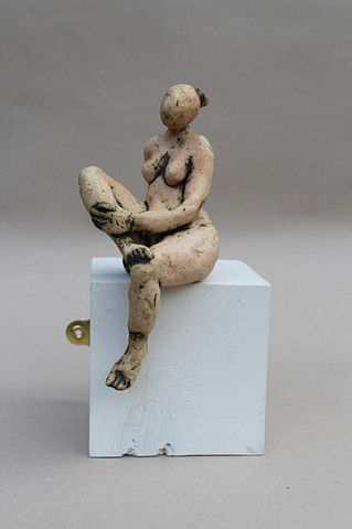 Figurine On The Edge