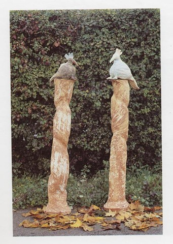 Birds on Columns Boleslaviec, Poland 1996