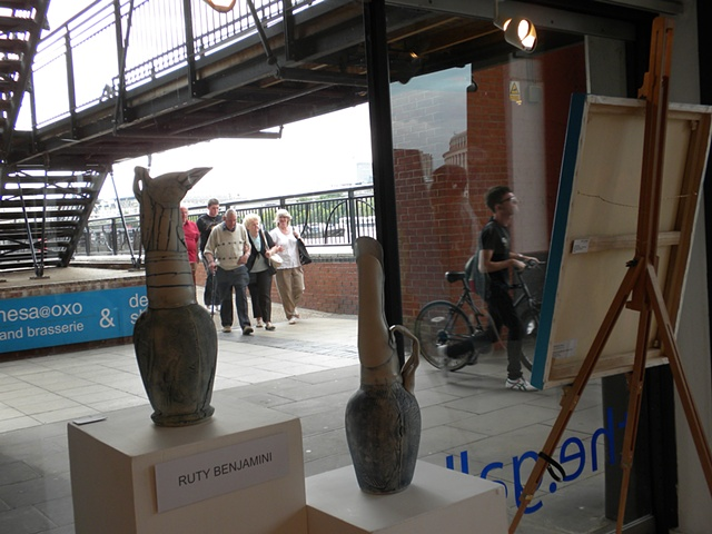 Summer Sizzle, Gallery@OXO view to river walk