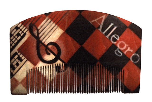 Cubist Hair Comb