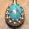 Turquoise Crown Set Navel Curve
