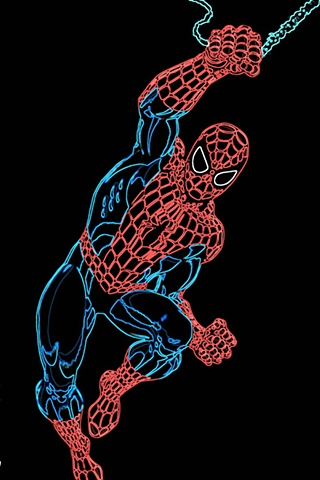 Pop Art Spider Man Print
