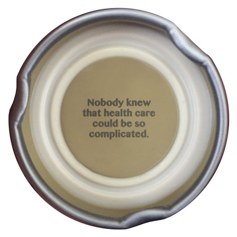 trump quotes contemporary art digital prints larkin Snapple lids health care