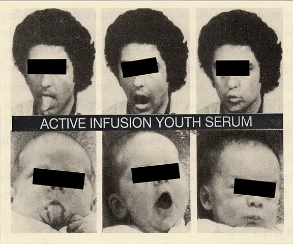 crazy shit, youth serum, poster