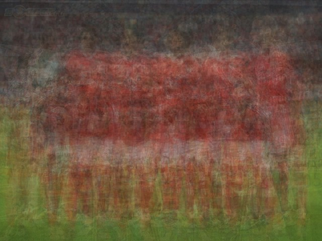 UEFA SL Benfica blurred blurry print soccer football Larkin team photo