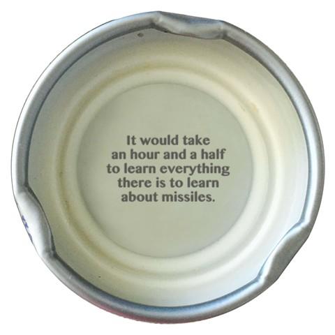trump quotes contemporary art digital prints larkin Snapple lids missiles