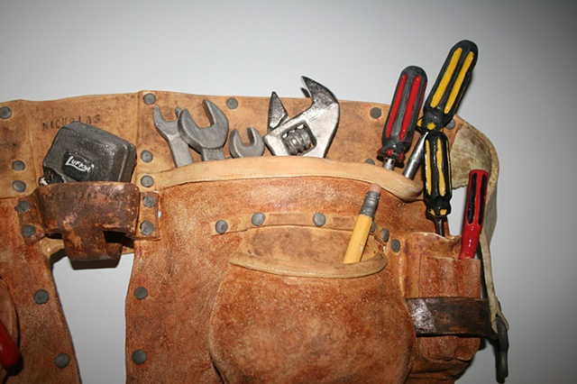 Close up Tool Belt