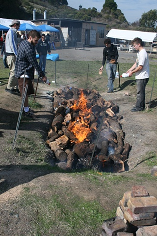 Pit Fire Process #3