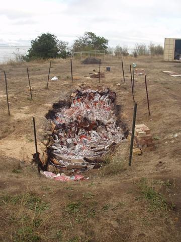 Pit Fire Process #4