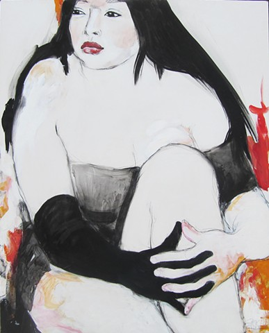 contemporary figure painting, figurative art, figure art