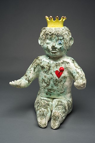 King cake voodoo doll