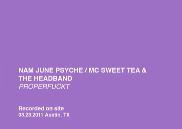 MC Sweet Tea & The Headband