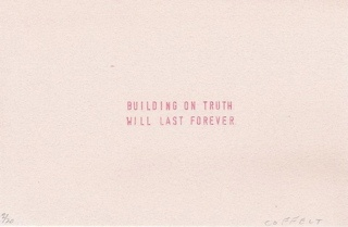 building on truth will last forever