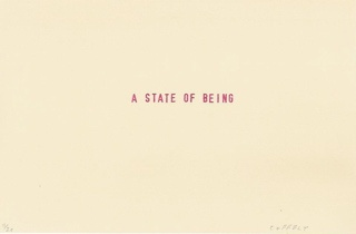 a state of being