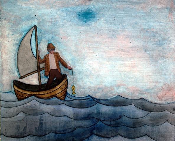 Jeffrey Schweitzer The Drifter: Fishin
