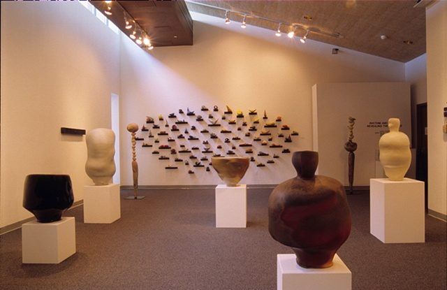 Rhythm & Breath - installation view Loyola College 2005