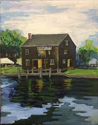 Sail Loft - Plein Air at Salem Maritime Festival 2019