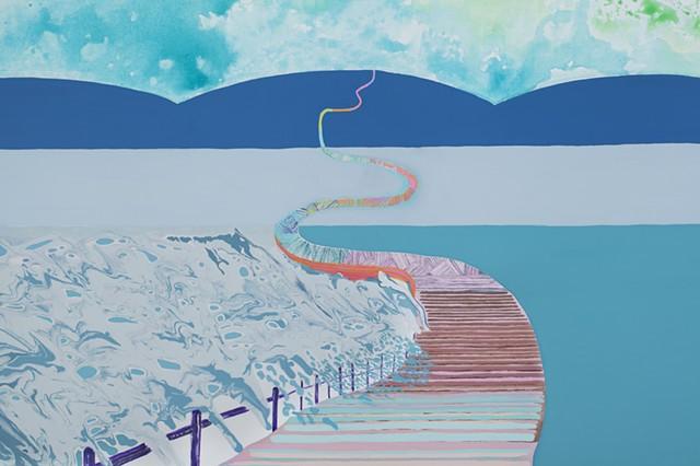 The Boardwalk (detail)
