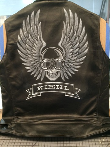 Leather Vest for Kiehl