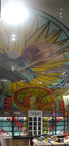 Kiehl's Mural, WTC