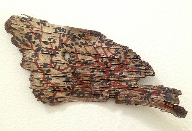 Birch Bark Drawing #9