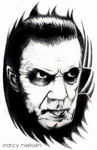 bela lugosi tattoo