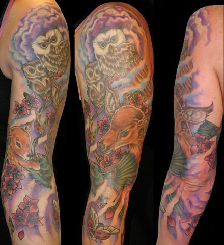 nature animals tattoo