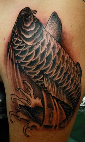Koi Eric James tattoo Phoenix Arizona art