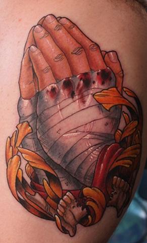 Praying hands Eric James