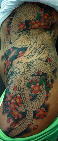 Eric James tattoo Japanese traditional Phoenix Tattoo Company