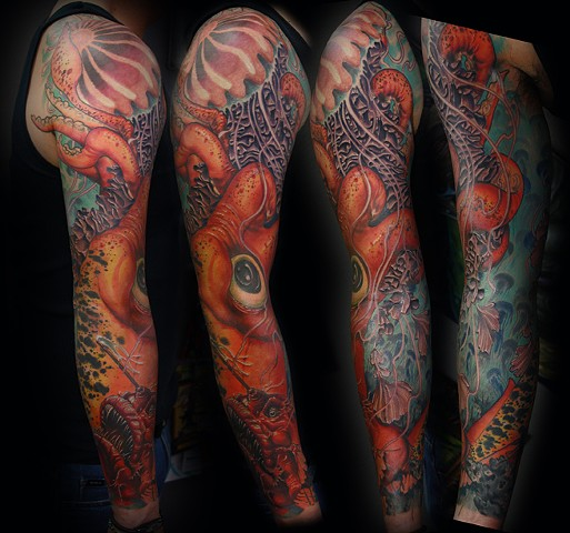 Eric James tattoo Phoenix Arizona art