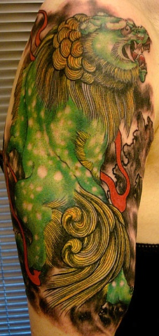 Eric James tattoo Japanese traditional