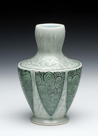 two part vase