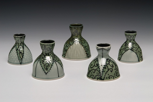 green vase group