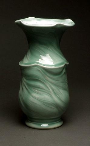 two-part vase
