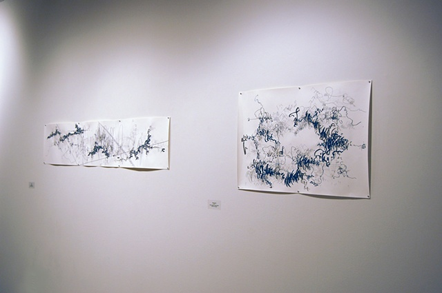 Installation of 'Journey' and 'Monumental'