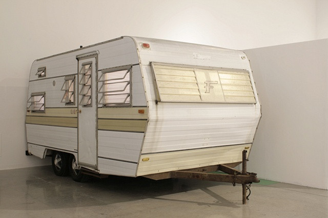 (Installation View) 1968 Falcon Flyte Mobile Home