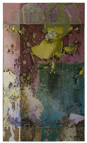 WS: Corner with Layers of Wall Paint