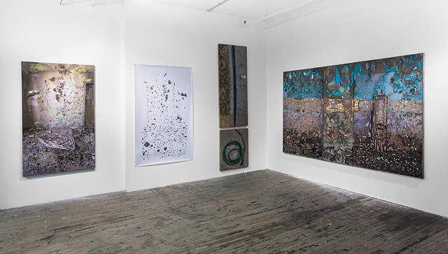 Slag Gallery Installation Photo