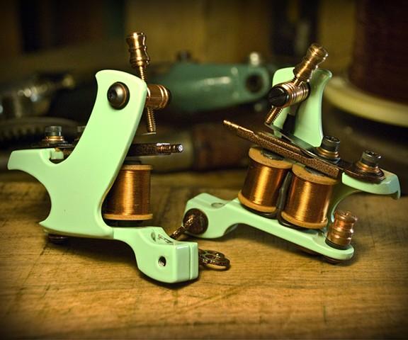 Mint and Brass Bartz Frames