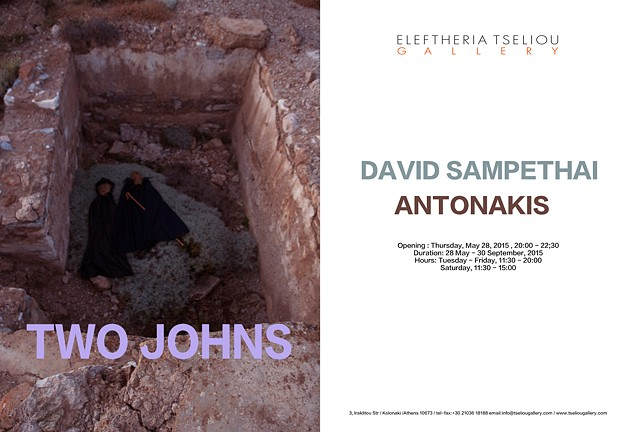 TWO JOHNS Duo show with Antonakis Christodoulou Eleftheria Tseliou Gallery (2015) Athens, Greece.