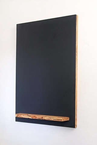 handmade chalkboard, parallam wood chalkboard with tray, custom sizes