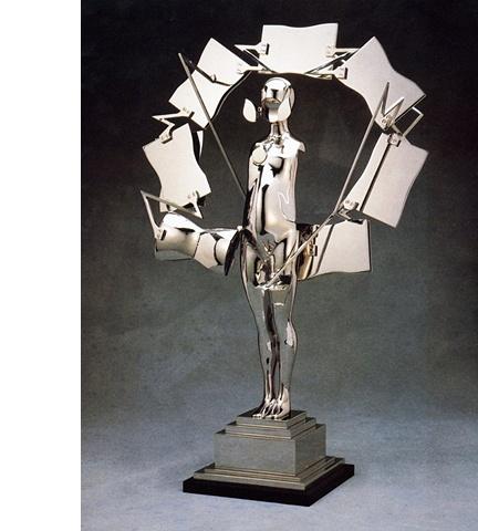 Study/Falling Man (Circle Figure), 1985
