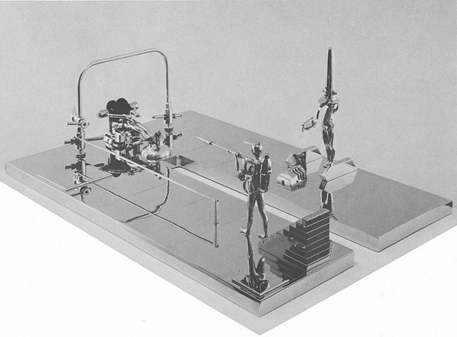 Study/Falling Man (U Landscape #56), 1968