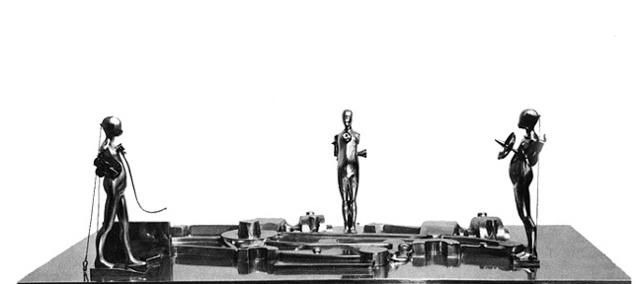 Study/Falling Man (Landscape), 1964