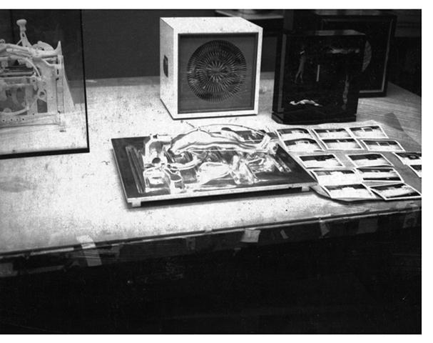 Polaroid of work in progress, circa 1964.