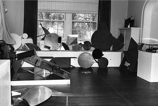 Trova's home studio circa late 1970s.