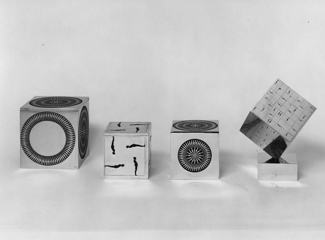 Brass Cubes, 1966